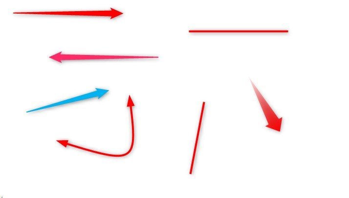 矢印を描く
