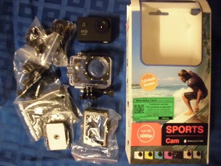 shopeeで買ったアクションカメラ