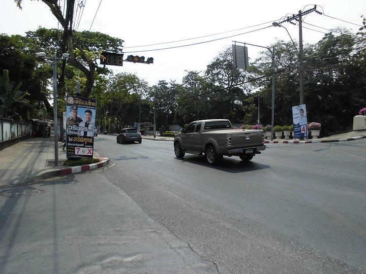 バンコク市内の道路交通規制