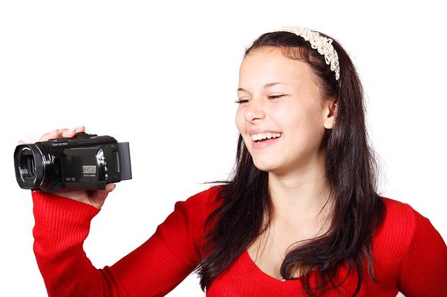 YouTube動画撮影用ビデオカメラ