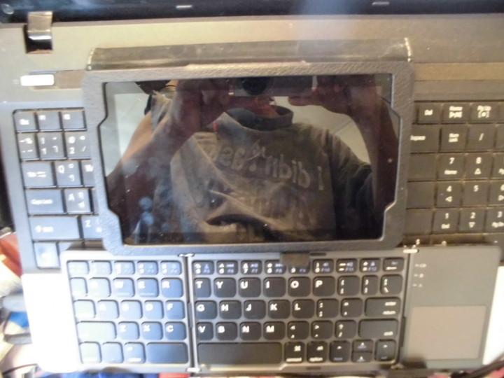 Fire7をノートパソコンに乗せる